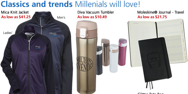 Classics and trends Millenials will love!