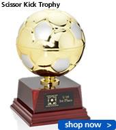 Scissor Kick Trophy