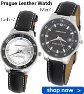 Prague Leather Watch