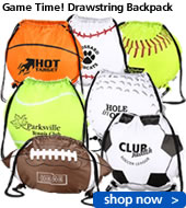 Game Time! Drawstring Backpack