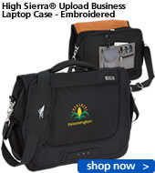 High Sierra Upload Business Laptop Case