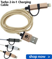 Turbo 2-in-1 Charging Cable