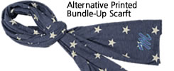 Alternative Printed Bundle Up Scarf