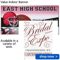 Value Indoor Banner