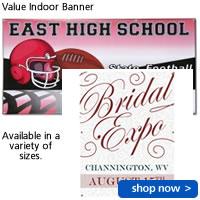 Value Indoor Banner