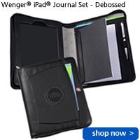 Wenger iPad Journal Set - Debossed