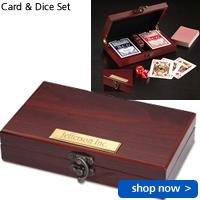 Card & Dice Set
