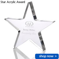 Star Acrylic Award