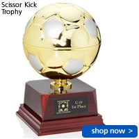 Scissor Kick Trophy