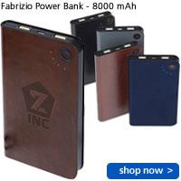 Fabrizio Power Bank - 8000 mAh