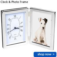 Clock & Photo Frame