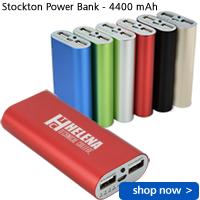 Stockton Power Bank - 4400 mAh