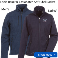 Eddie Bauer Crosshatch Soft Shell Jacket