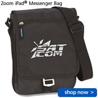Zoom iPad Messenger Bag