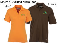 Moreno Textured Micro Polo