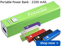 Portable Power Bank - 2200 mAh