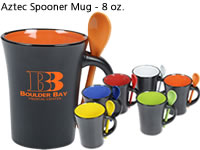 Aztec Spooner Mug - 8 oz.
