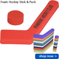 Foam Hockey Stick & Puck