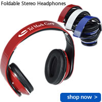 Foldable Stereo Headphones
