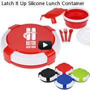Latch It Up Silicone Lunch Container