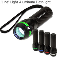 'Line' Light Aluminum Flashlight