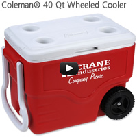 Coleman 40 Qt Wheeled Cooler