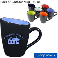 Rock of Gibraltar Mug - 10 oz.