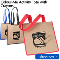 Colour-Me Activity Tote with Crayons