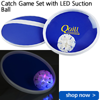 Catch Game Set with LED Suction Ball