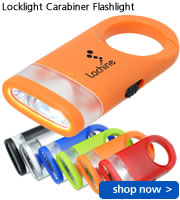Locklight Carabiner Flashlight