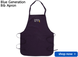 Blue Generation Bib Apron