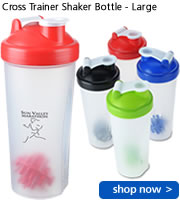 Cross Trainer Shaker Bottle - Large