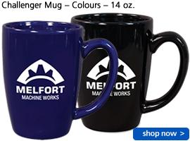 Challenger Mug – Colours – 14 oz.
