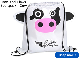 Paws and Claws Sportpack - Cow