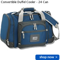 Convertible Duffel Cooler - 24 Can