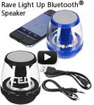 Rave Light Up Bluetooth Speaker