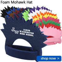 Foam Mohawk Hat