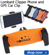 Lombard Clipper Phone and GPS Car Clip