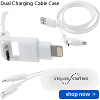 Dual Charging Cable Case