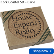 Cork Coaster Set - Circle