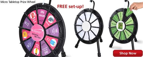 Micro Tabletop Prize Wheel