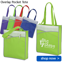 Overlay Pocket Tote
