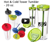 Hot & Cold Tower Tumbler - 20 oz.
