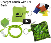 Charger Pouch with Ear Budsr