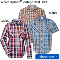 Weatherproof(R) Vintage Plaid Shirt