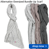 Alternative Oversized Bundle-Up Scarf