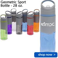 Geometric Sport Bottle