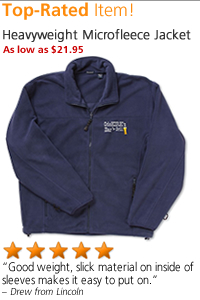Heavyweight Microfleece Jacket