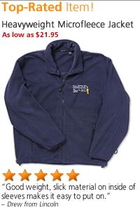 Heavyweight Microfleece Jacket