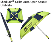 ShedRain® Gellas Auto Open Square Umbrella